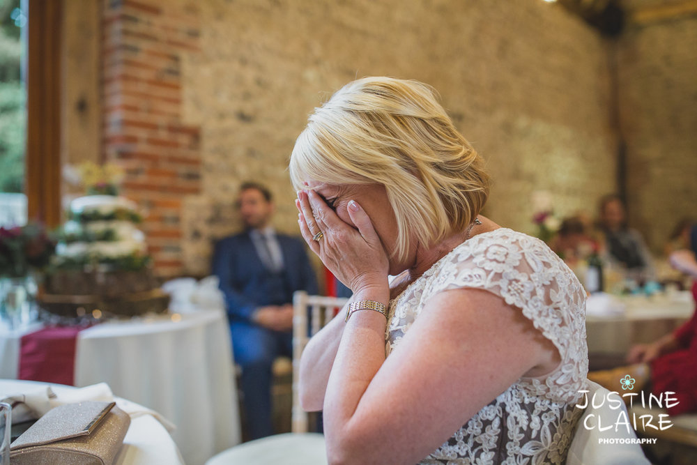 wedding photographer at Cissbury barn Findon Barn Venue Sussex reportage-119.jpg