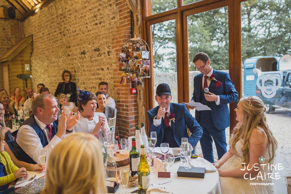 wedding photographer at Cissbury barn Findon Barn Venue Sussex reportage-120.jpg