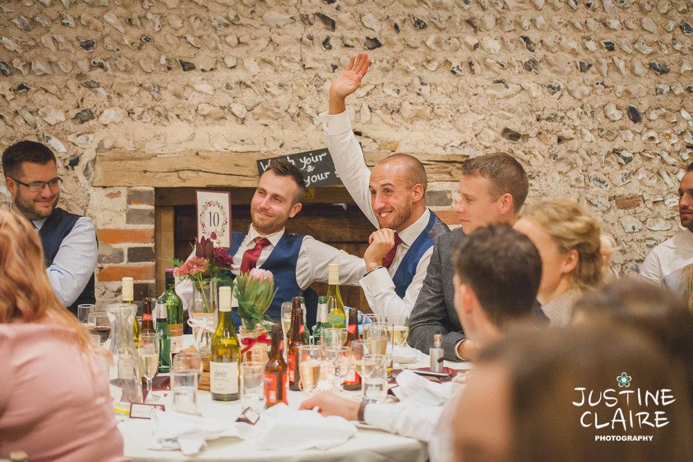 wedding photographer at Cissbury barn Findon Barn Venue Sussex reportage-121.jpg