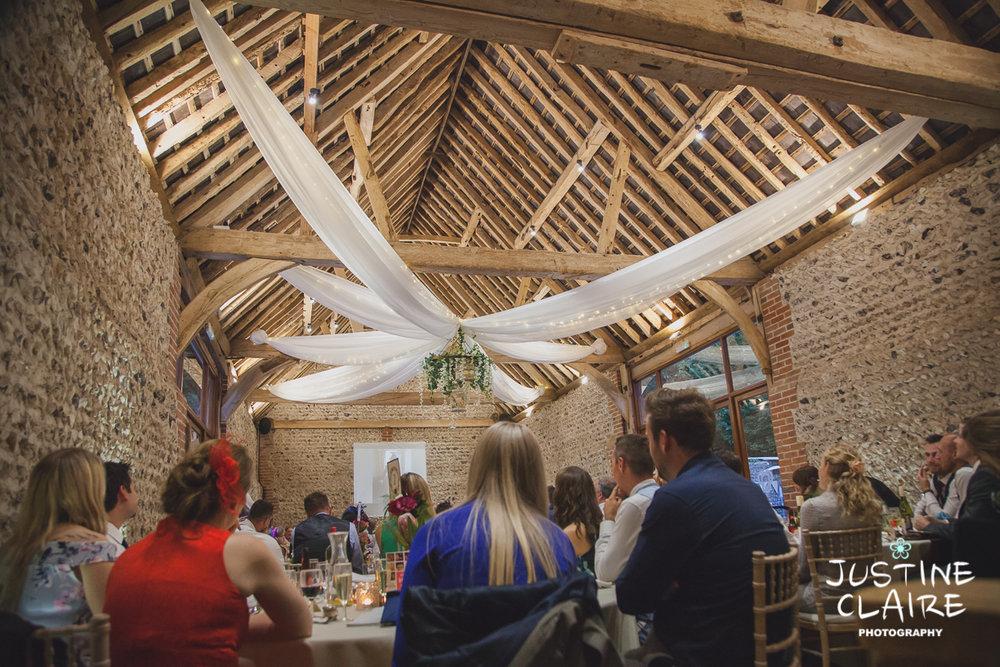 wedding photographer at Cissbury barn Findon Barn Venue Sussex reportage-123.jpg