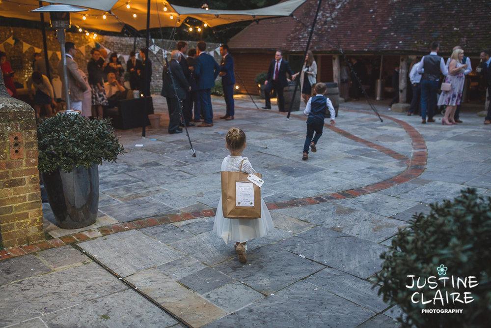 wedding photographer at Cissbury barn Findon Barn Venue Sussex reportage-125.jpg