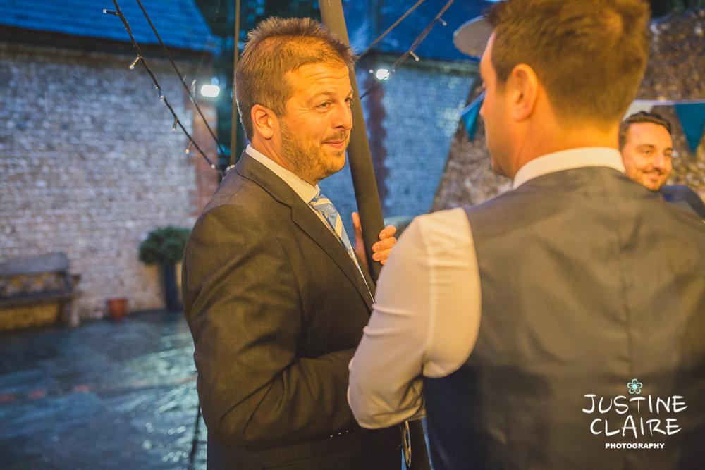 wedding photographer at Cissbury barn Findon Barn Venue Sussex reportage-129.jpg