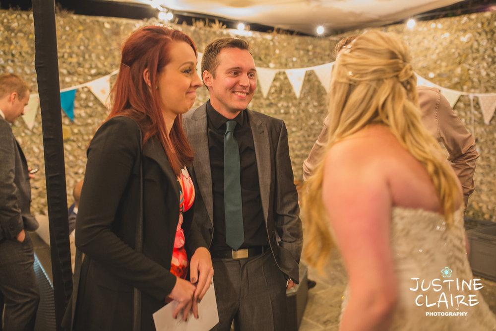 wedding photographer at Cissbury barn Findon Barn Venue Sussex reportage-138.jpg