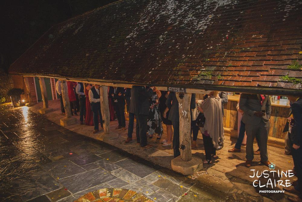 wedding photographer at Cissbury barn Findon Barn Venue Sussex reportage-139.jpg