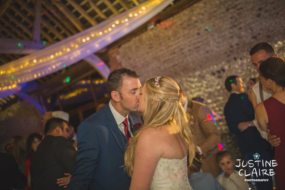 wedding photographer at Cissbury barn Findon Barn Venue Sussex reportage-144.jpg