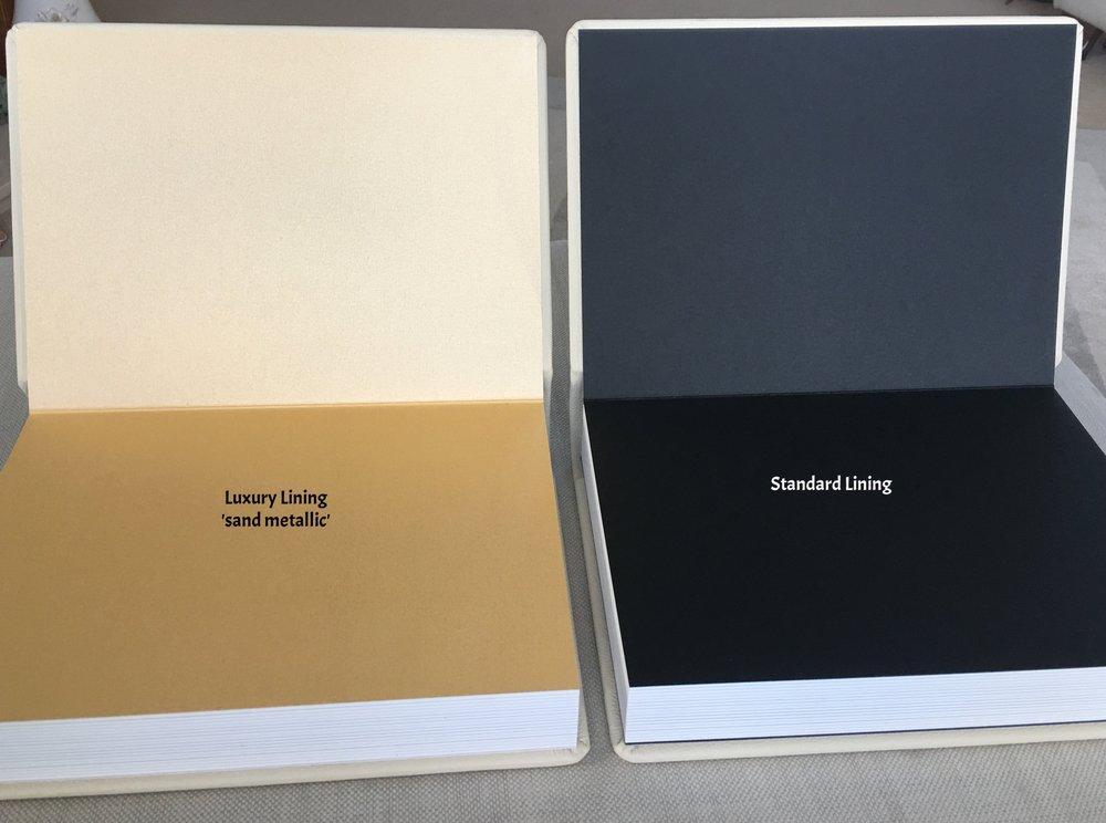 Graphistudio Original Wedding Album Rigid pages, Gold lux lining, picture windowvv.jpg