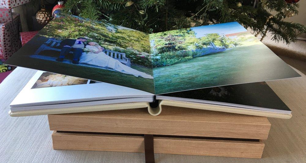 Graphistudio Design box Original wedding book wedding photographers sussex ashdown park.jpg