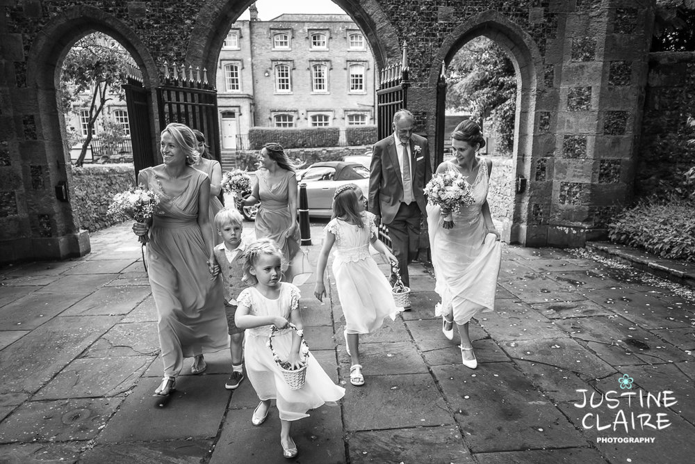 Arundel Church St Nicholas Dorset House Chichester Wedding Photographer female sussex-2.jpg