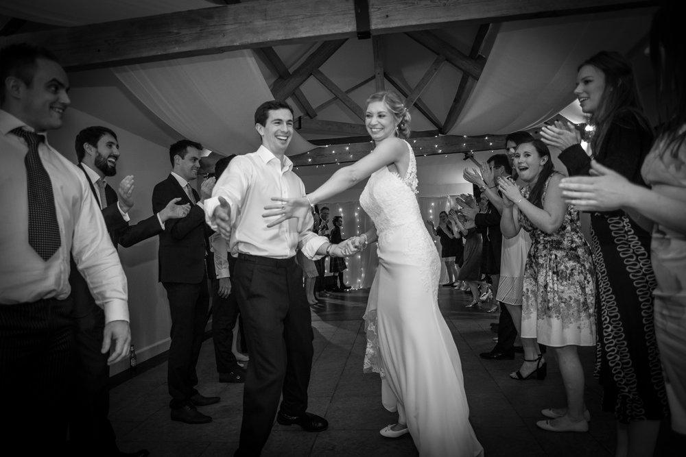First dance - at Farbridge Barn