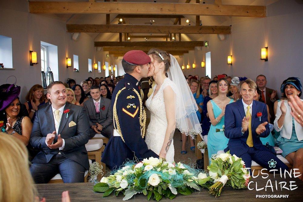 West Sussex wedding photographer justine claire