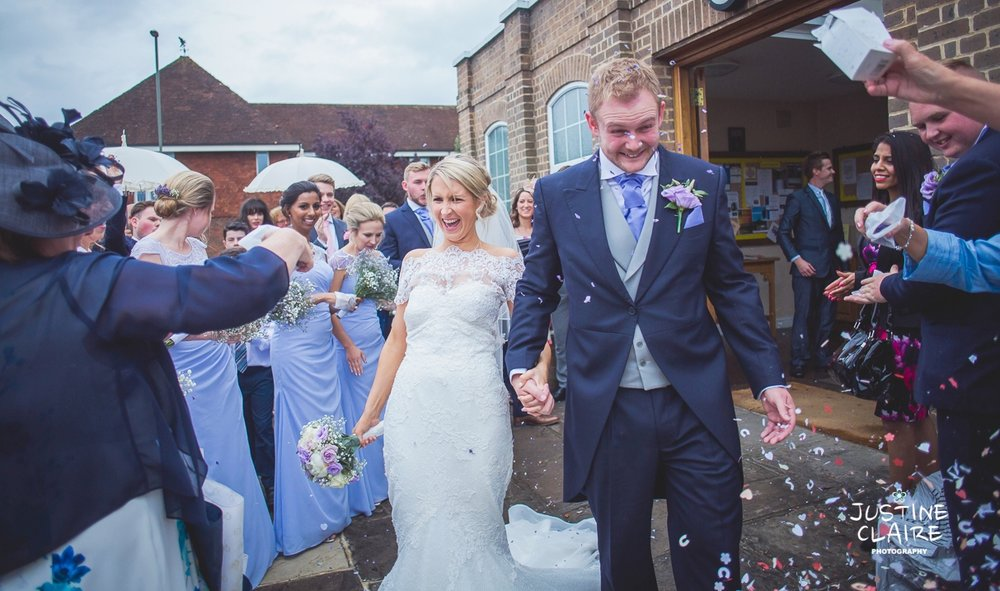 Surrey wedding Photographers - Sacred Heart Cobham