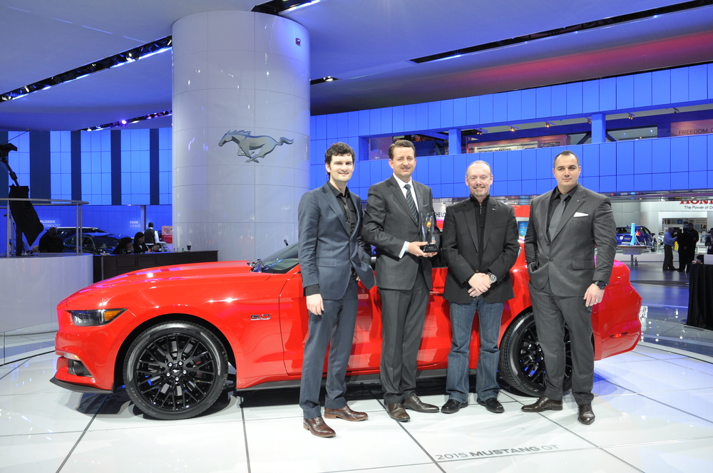 Best Production Vehicle: 2015 Ford Mustang