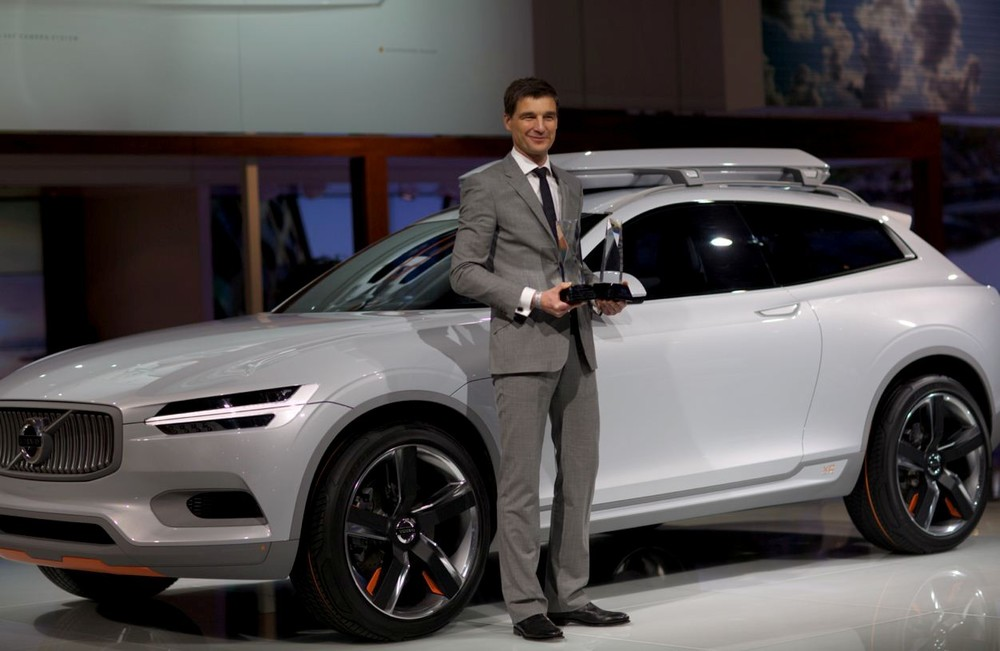 Best Concept Vehicle and Innovative Use of Color, Graphics, and Materials: Volvo Concept XC Coupe
