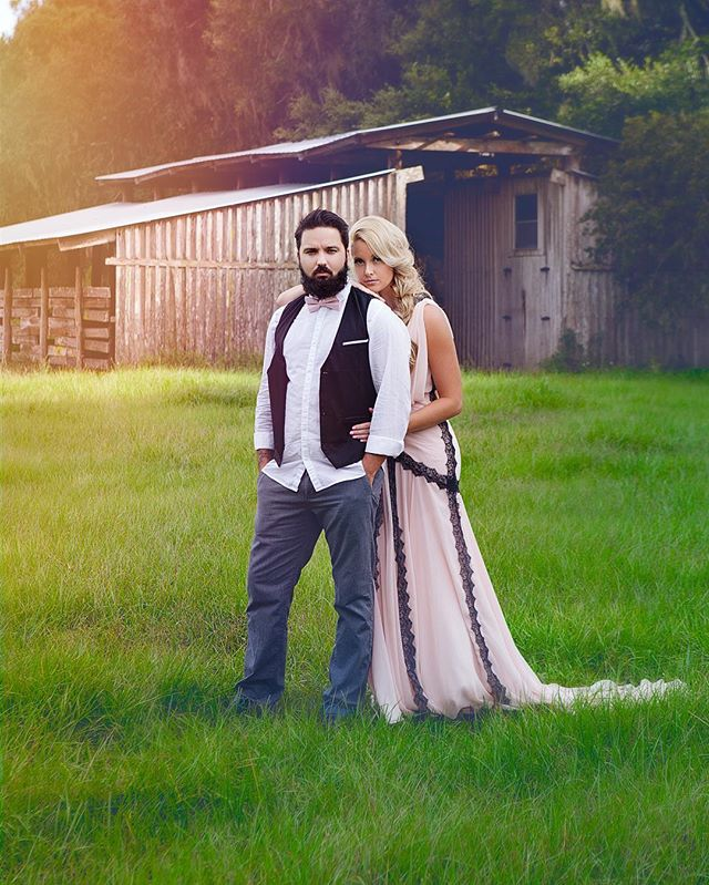 Love when a couple opts for more of a styled shoot over basic engagement shots. It becomes art- #engagement #couples  #couplesofinstagram #love #lovestory #sunsets #photo #photography #art #artistic #outdoorphotography