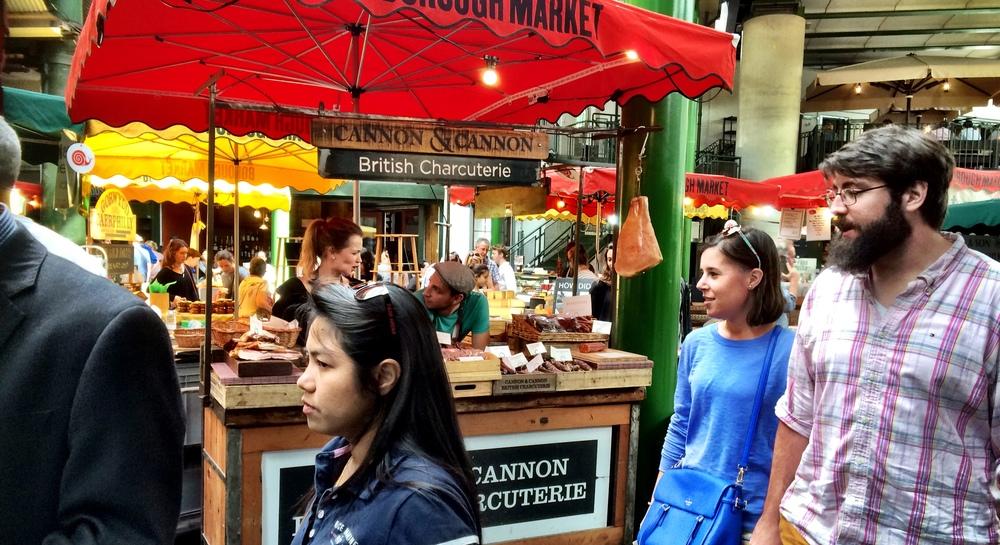 Burroughs Market, London City Center