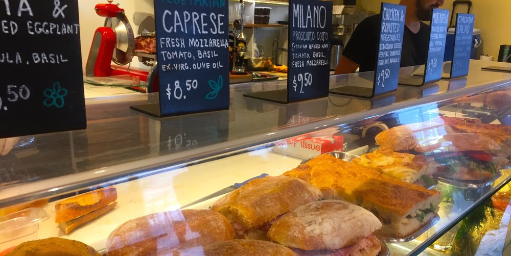 Capture the moments--signage and fresh food make the customer experience easy--they make decisions easier.