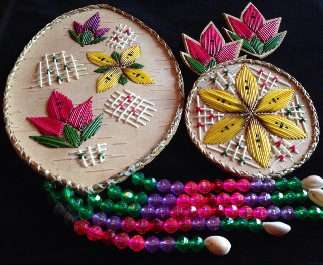 Quilled Regalia Pieces by Ingrid Brooks
