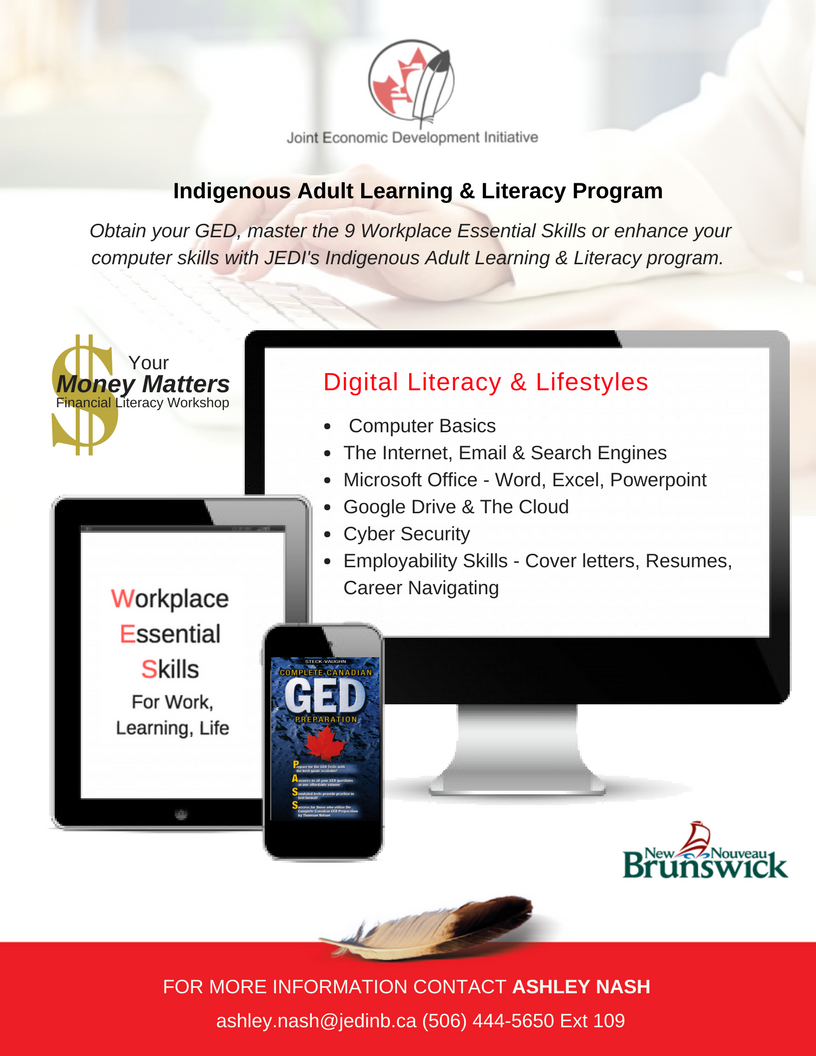 Indigenous Adult Learning & Literacy Program