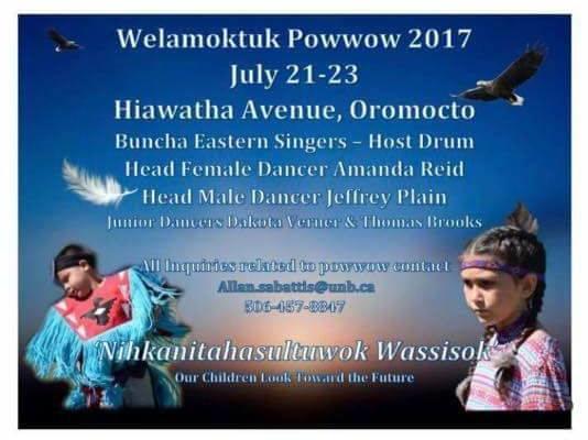 Oromocto 2017 Pow Wow