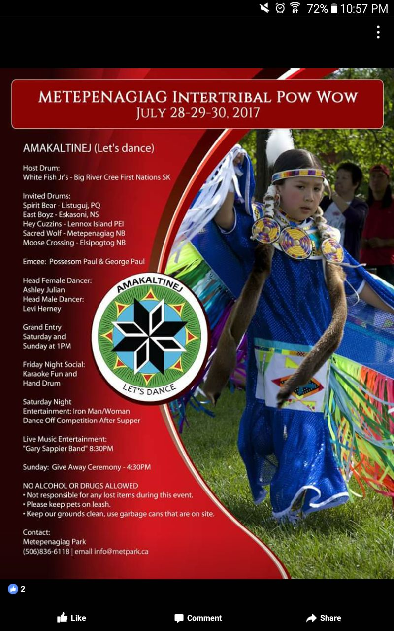 Christine Anderson - Metepenagiag 2016 Pow Wow - Lil girl dancer.jpg
