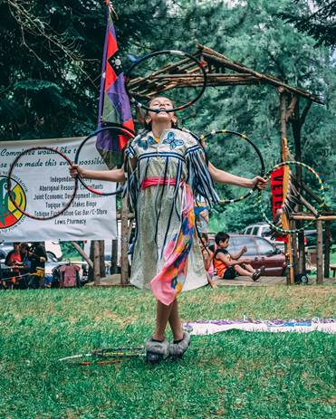Tobique First Nation 2018 Pow Wow photo submitted by Logan Perley