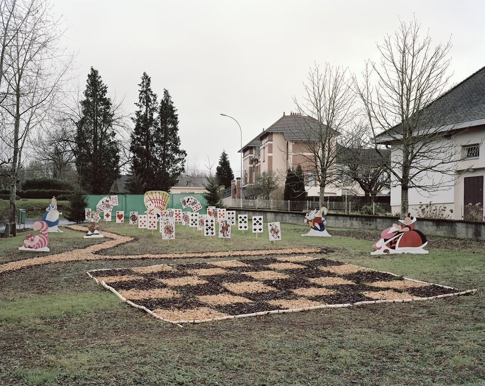 """""""La Diagonale Aride"""", Paray-Le-Monial (Saône-et-Loire), Décorations atypiques, 2013-2014."""