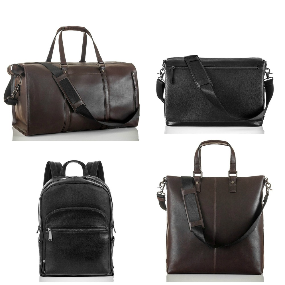 Liam Duffle, Mason Messenger Bag, Brian Backpack, Lyle Tote