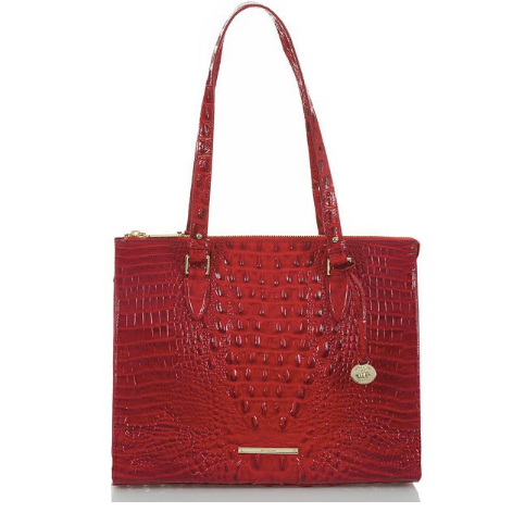 The Anywhere Tote in Scarlet Melbourne