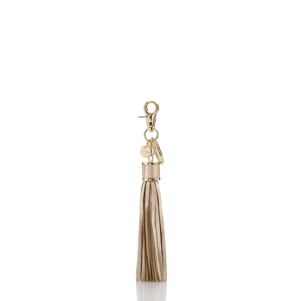 Large Tassel in Platinum Moonlit