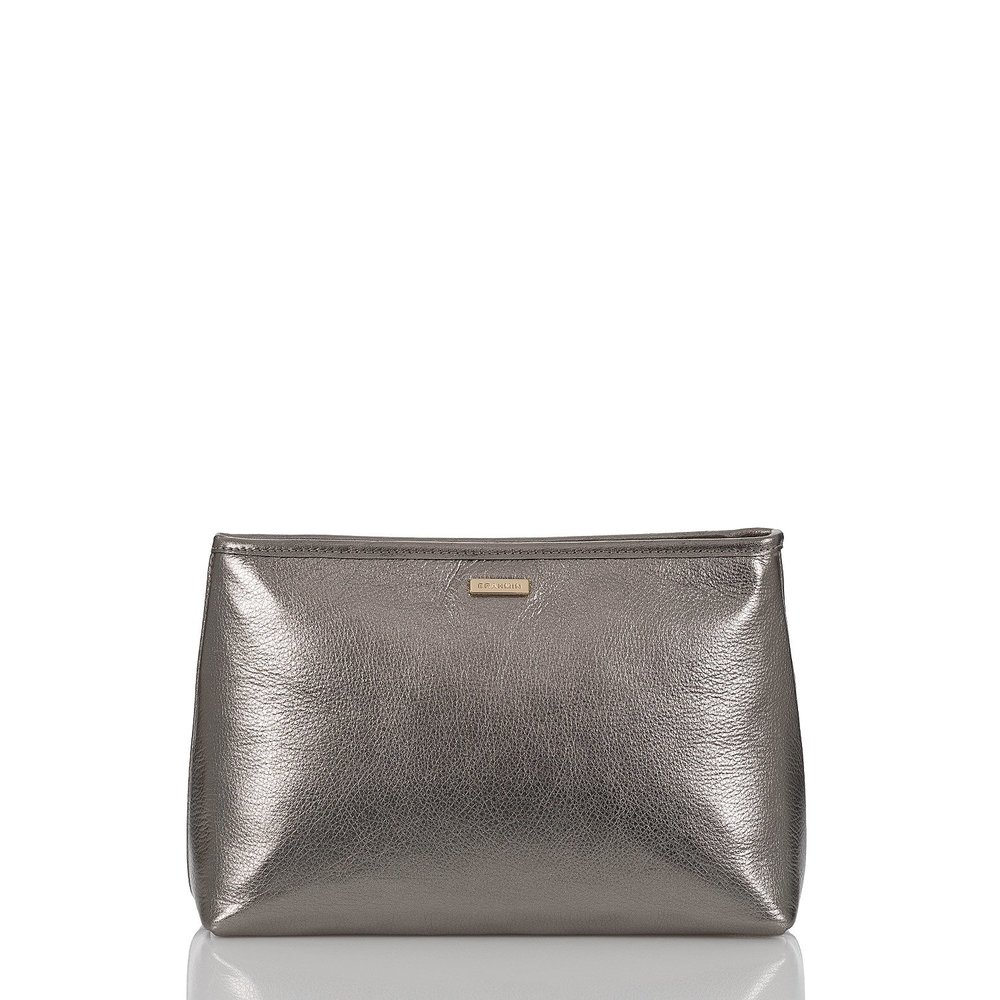 Sloane Cosmetic Pouch in Anthracite Moonlit