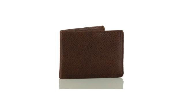 Billfold in Cocoa Brown Manchester