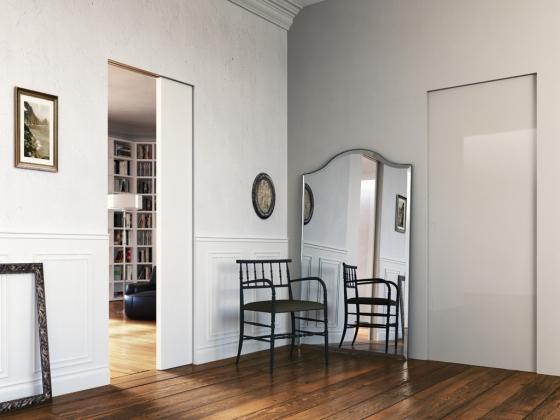 Innenlaufende Schiebetüren l invisibile designsolutions21