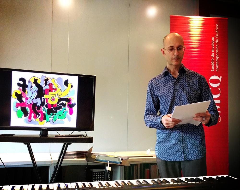 La Société de musique contemporaine du Québec est une institution au coeur de la création musicale depuis près de 50 ans.