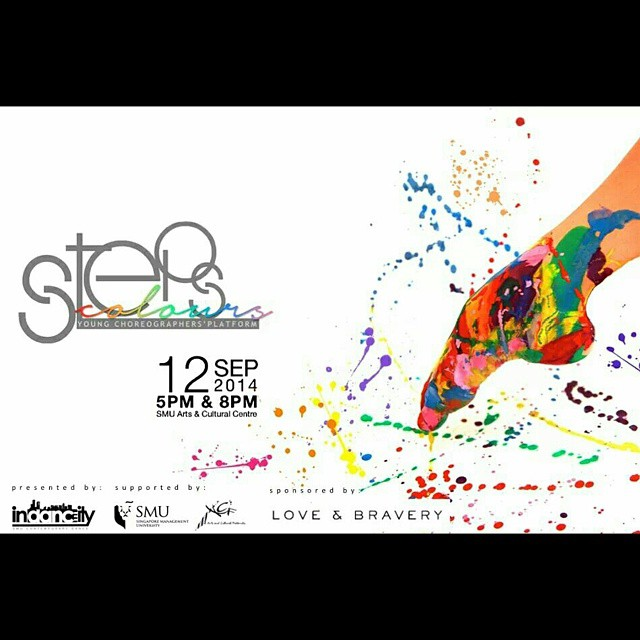 First show of STEPS: COLOURS presented by Indancity is happening now! We can't wait for the 2nd show already! 8pm @ ACC. See you there!