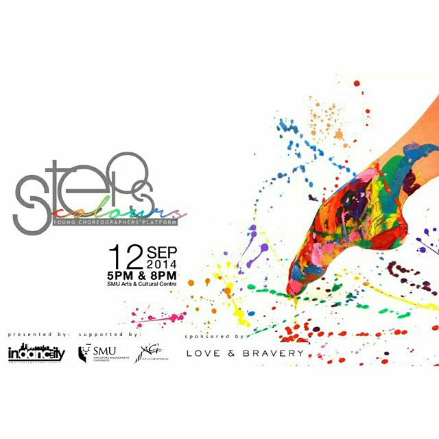 First show of STEPS: COLOURS presented by Indancity is happening now! We can't wait for the 2nd show already! 8pm @ ACC. See you there! @indancity