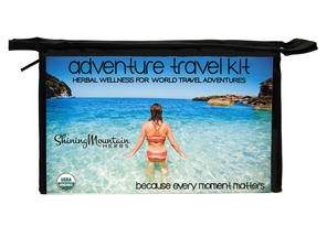 Adventure Travel Kit - Stay Healthy While You Travel $44.99 Value