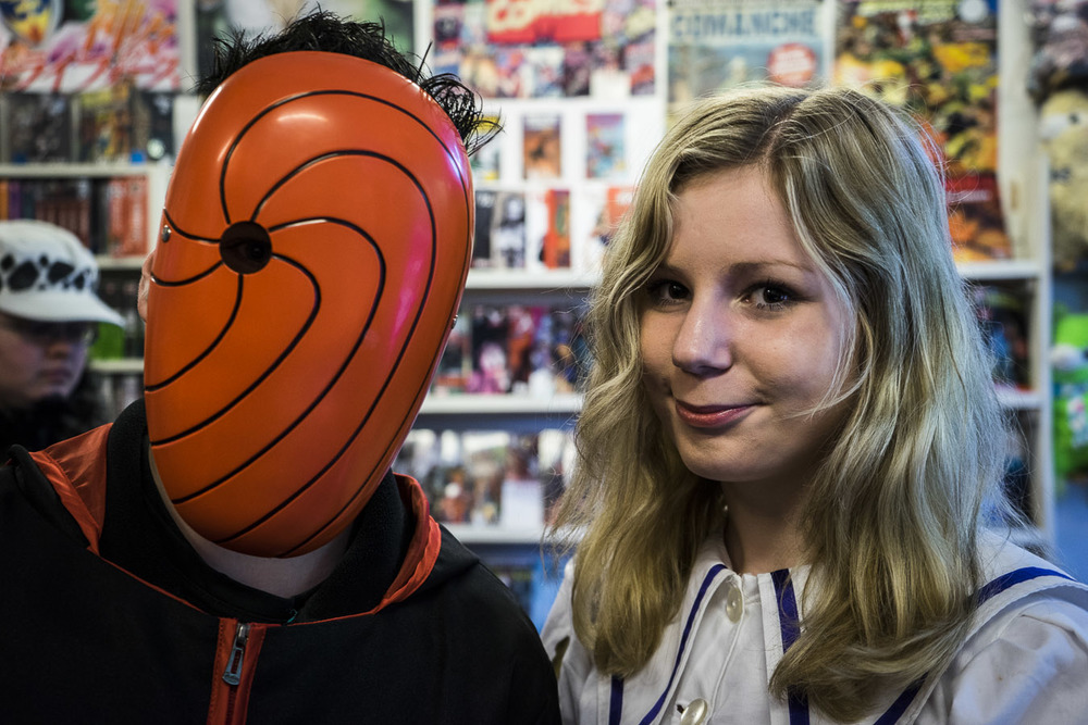 Interesting mask...