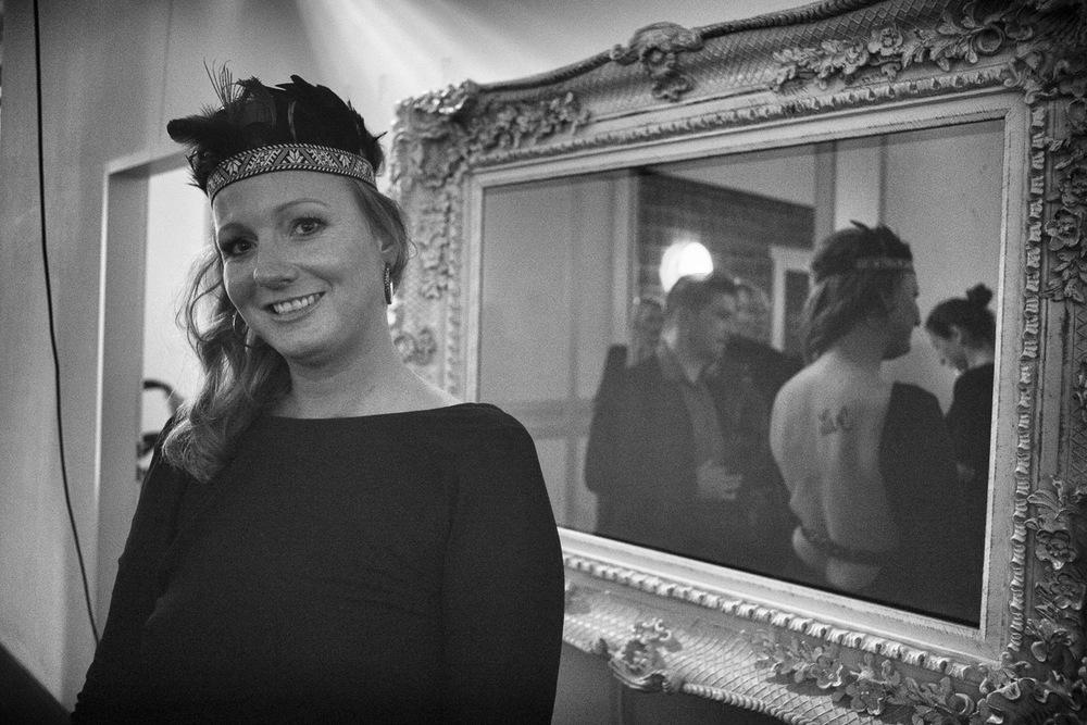 One happy Hostess: Jenny Falckenberg