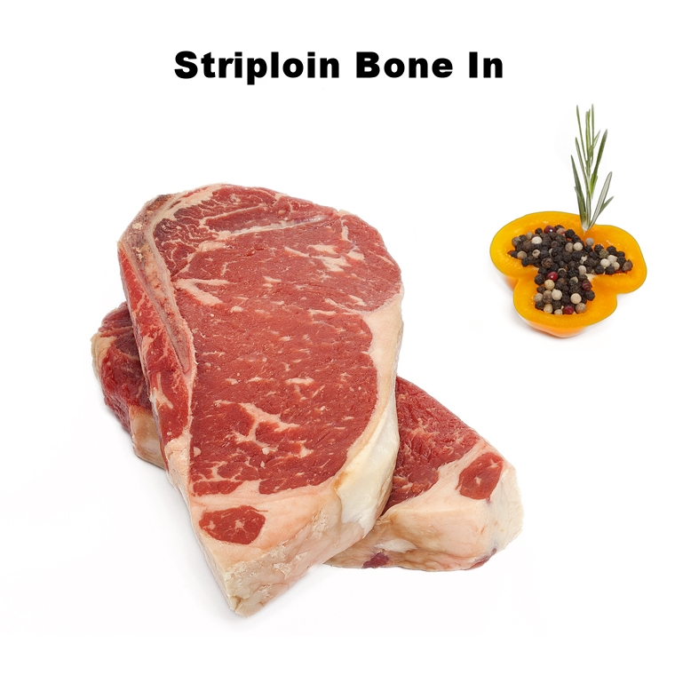 Striploin Bone In