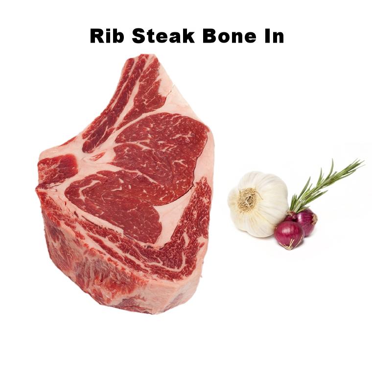 Rib Steak Bone In