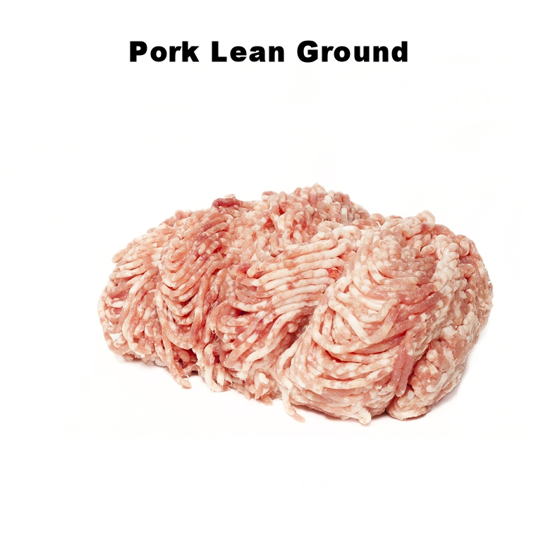 Pork Lean Ground