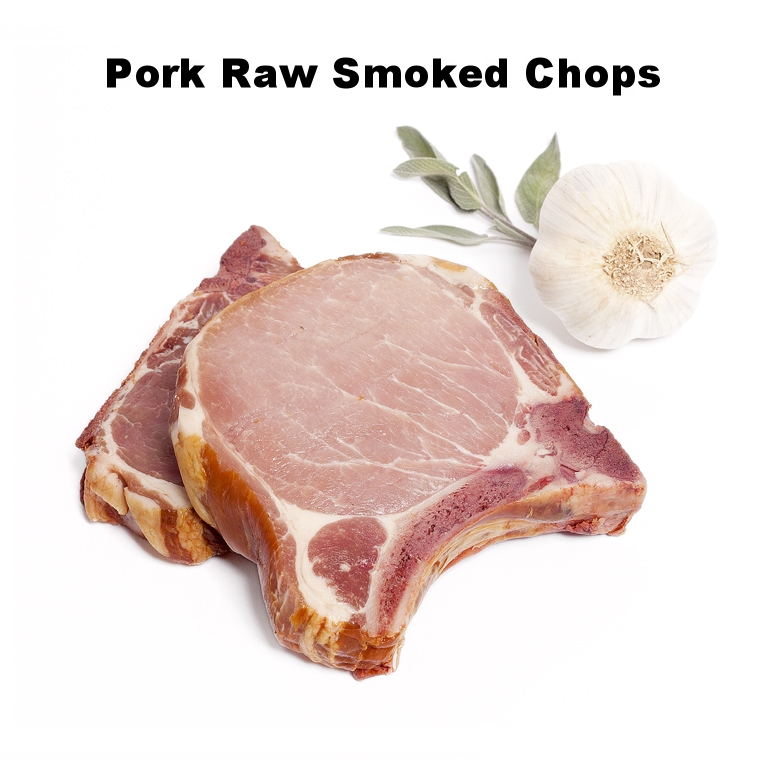 Pork Raw Smoked Chops