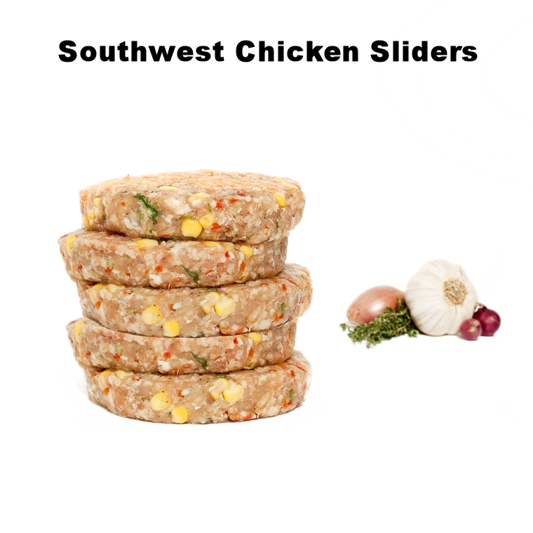 Southwest Chicken Sliders