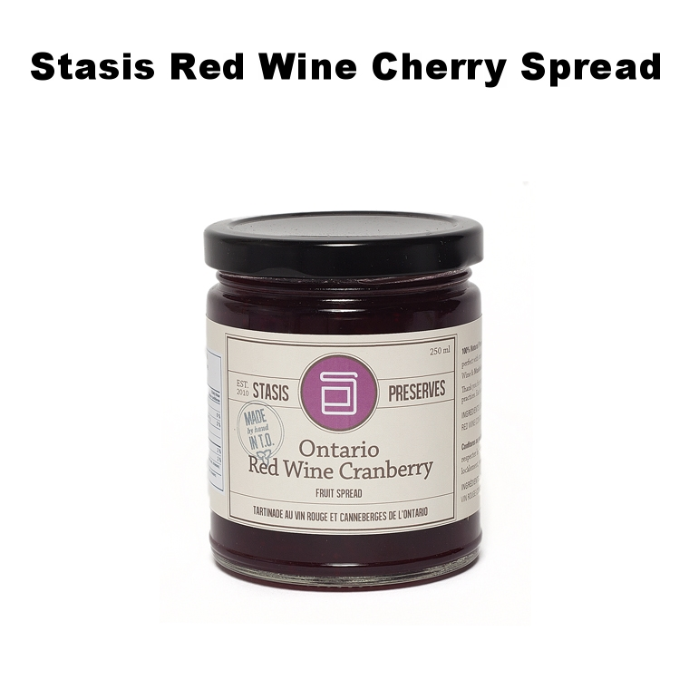 Stasis Red Wine Cherry Spread