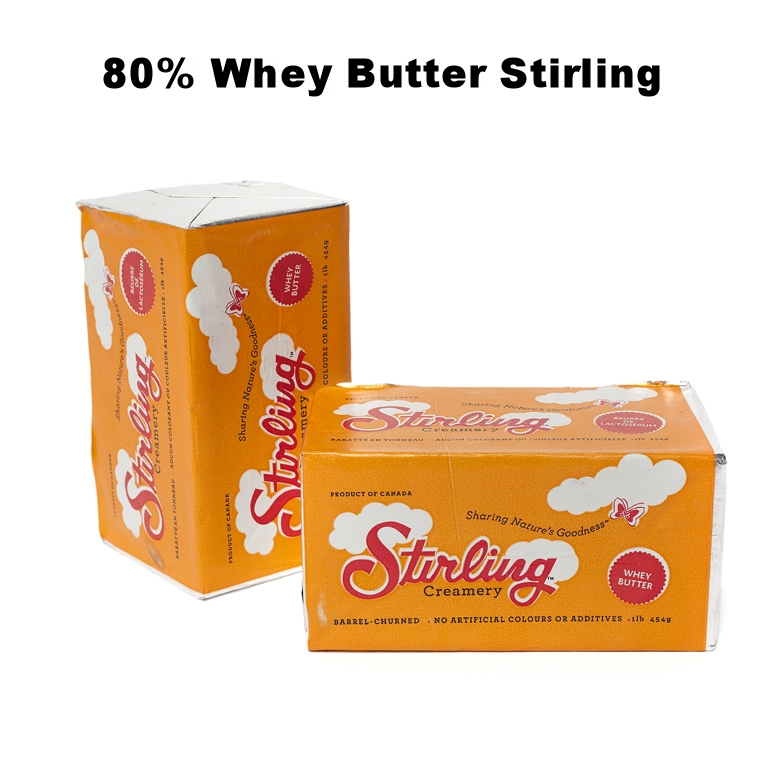 80% Whey Butter Stirling