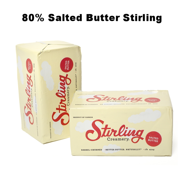 80% Salted Butter Stirling