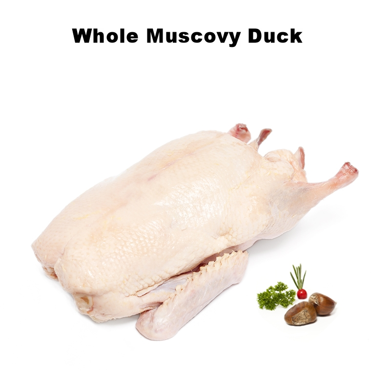 Whole Muscovy Duck