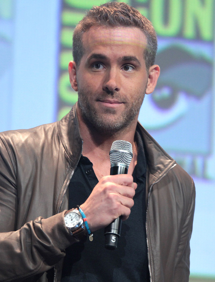 Actor and Super-Good-At-Social-Media-Guy, Ryan Reynolds