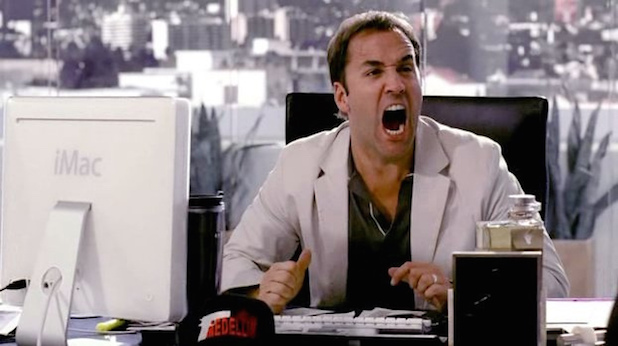 Definitely not a talent manager - Jeremy Piven in  Entourage .