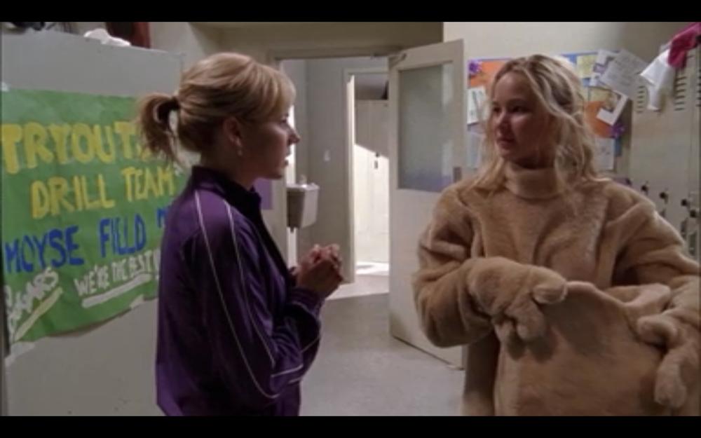 Jennifer Lawrence in  Monk .